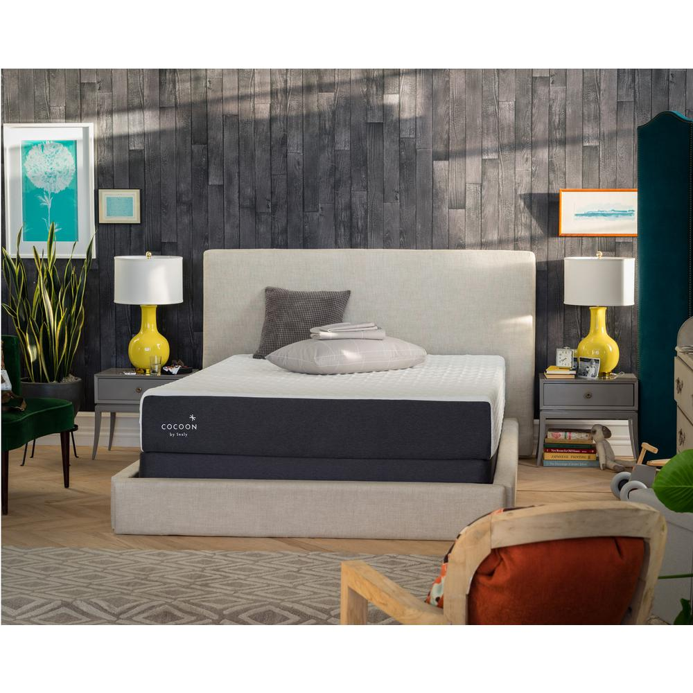 Cocoon By Sealy Chill Firm Twin Xl Memory Foam Mattress 33844420