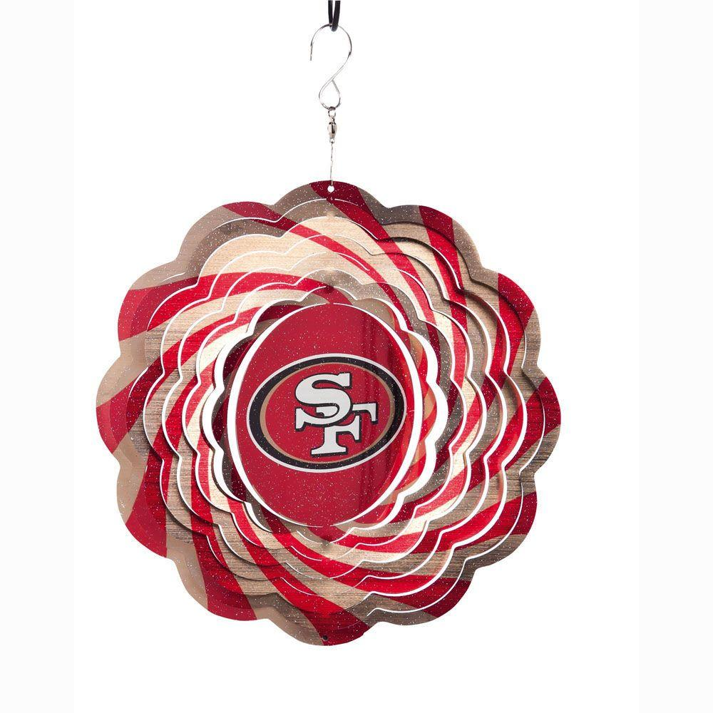10 in. San Francisco 49ers Geo Spinner