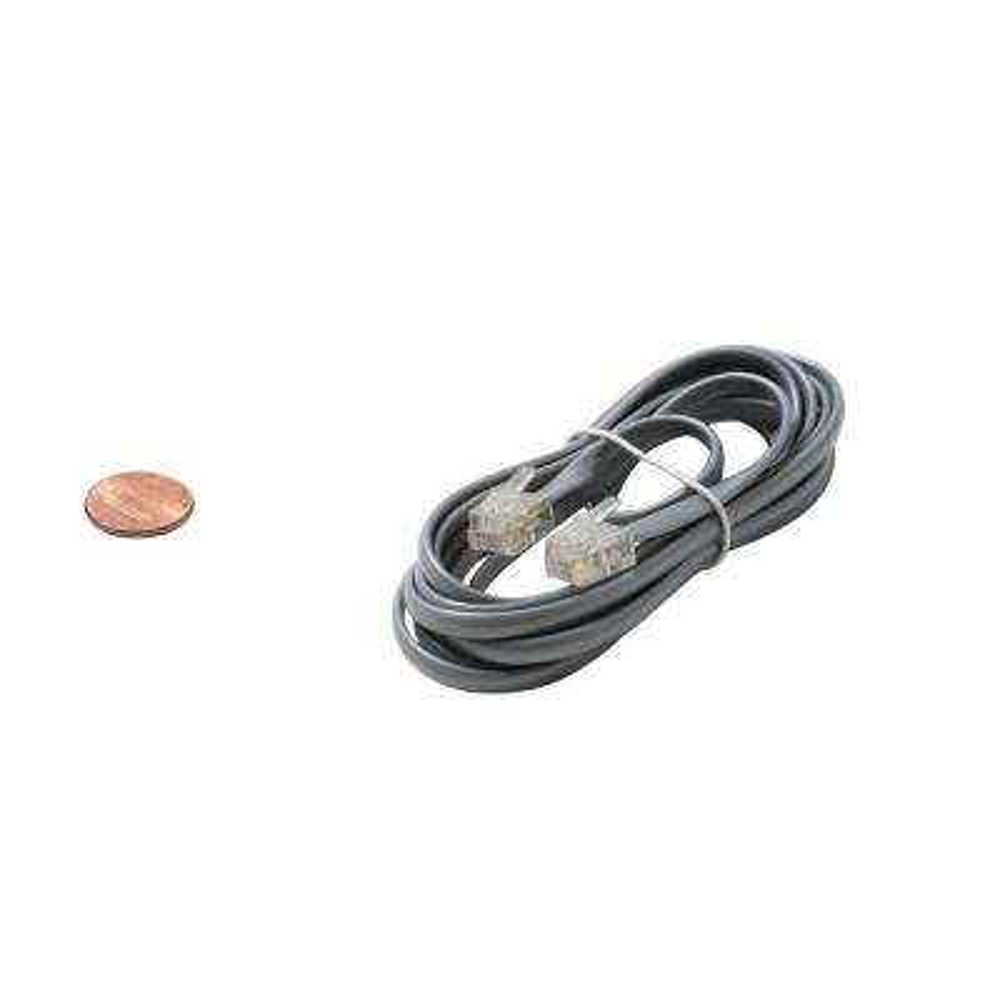 25 ft. 4C Modular Line Cord - Silver