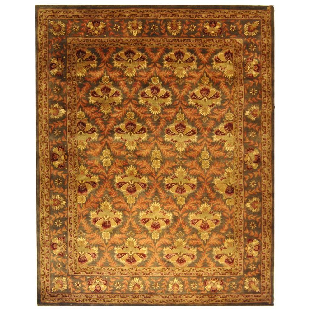 Safavieh Antiquity Sage/Gold (Green/Gold) 8 ft. 3 in. x 1...