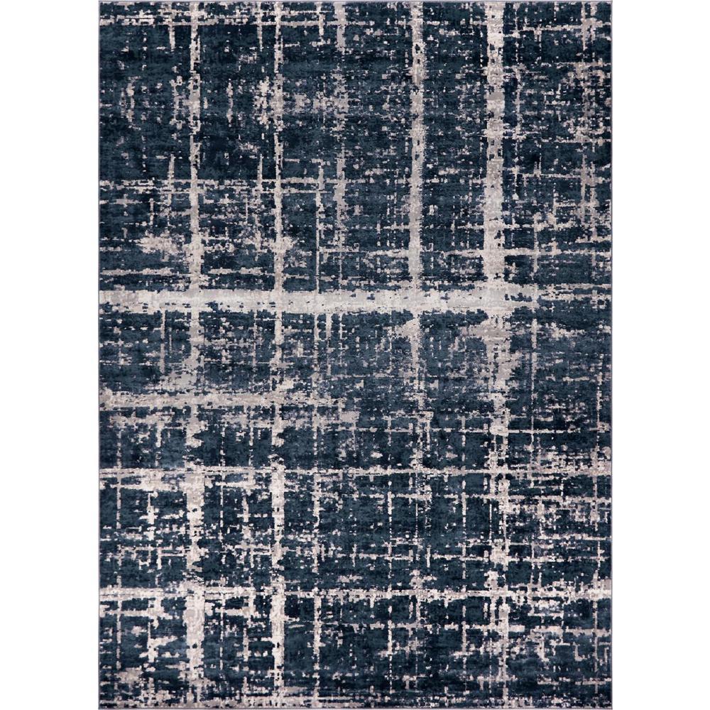 Uptown Collection by Jill Zarin Lexington Avenue Navy Blue 9' 0 x 12' 0 Area Rug
