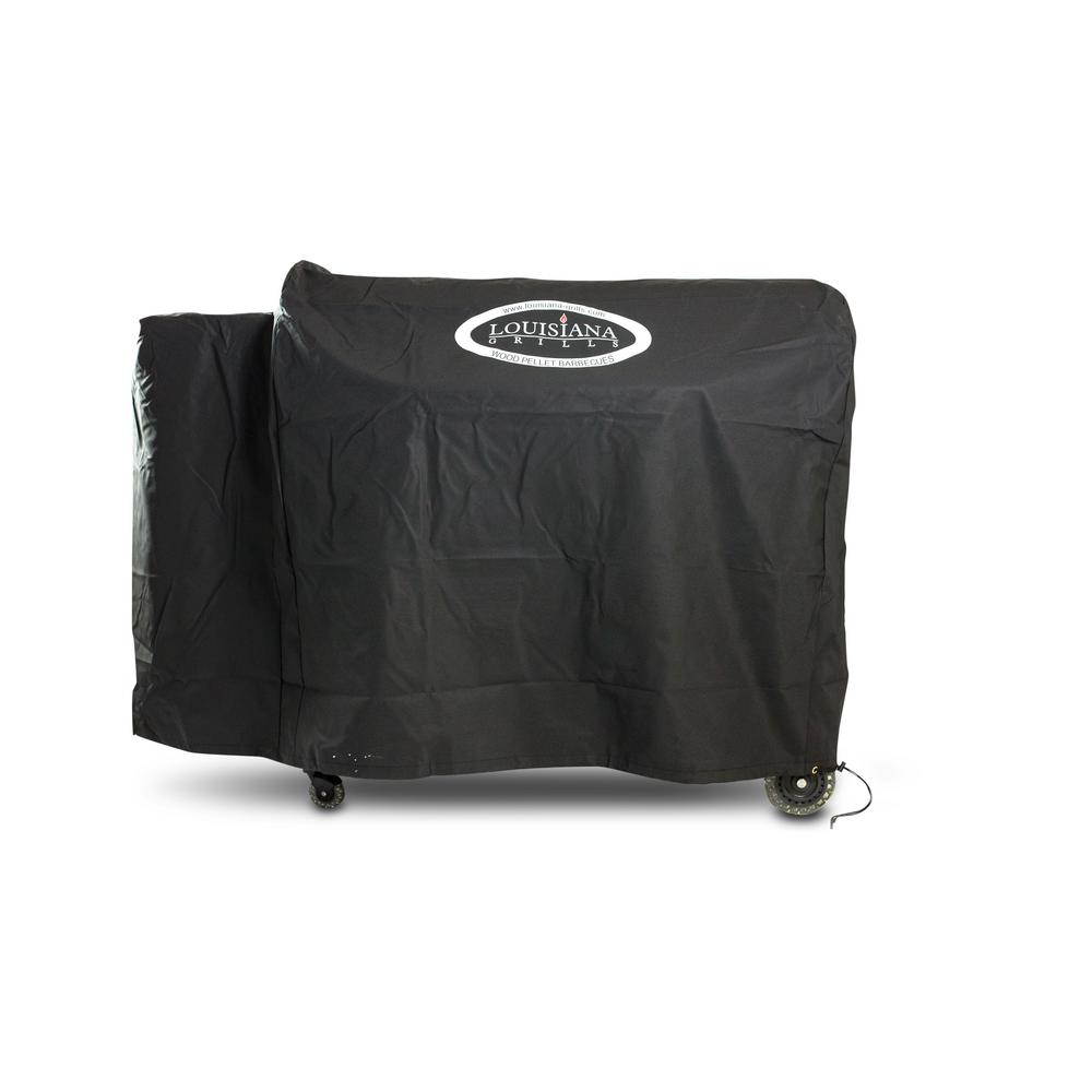 Louisiana Grills LG1100 Grill Cover with Logo, Black