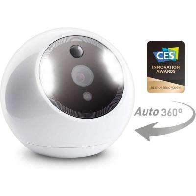 Apollo Wired 1080P Indoor Auto PTZ Smart Security Camera with Face, Vehicle, Pet Recognition, Fire Warning, Night Vision