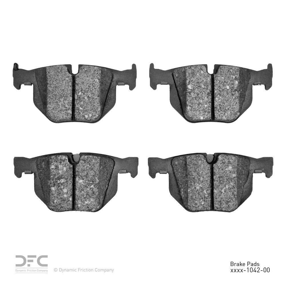 Dynamic Friction Company Dfc 5000 Advanced Brake Pads Ceramic 1551 1042 00 The Home Depot