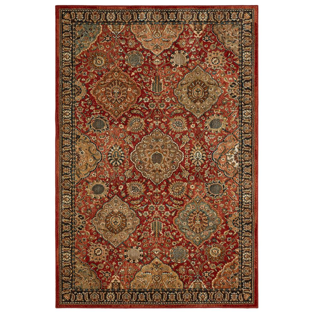 Mohawk Home Salween Garnet 8 ft. x 10 ft. Area Rug-001825 - The ...