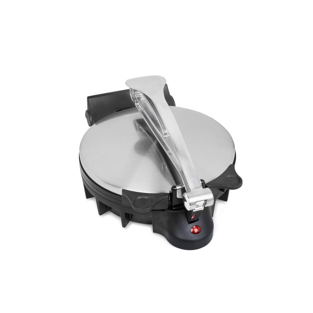 Tortilla and Flat Bread Maker in Stainless Steel