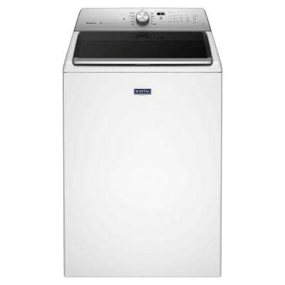 5.3 cu. ft. High-Efficiency White Top Load Washing Machine with Deep Clean Option, ENERGY STAR