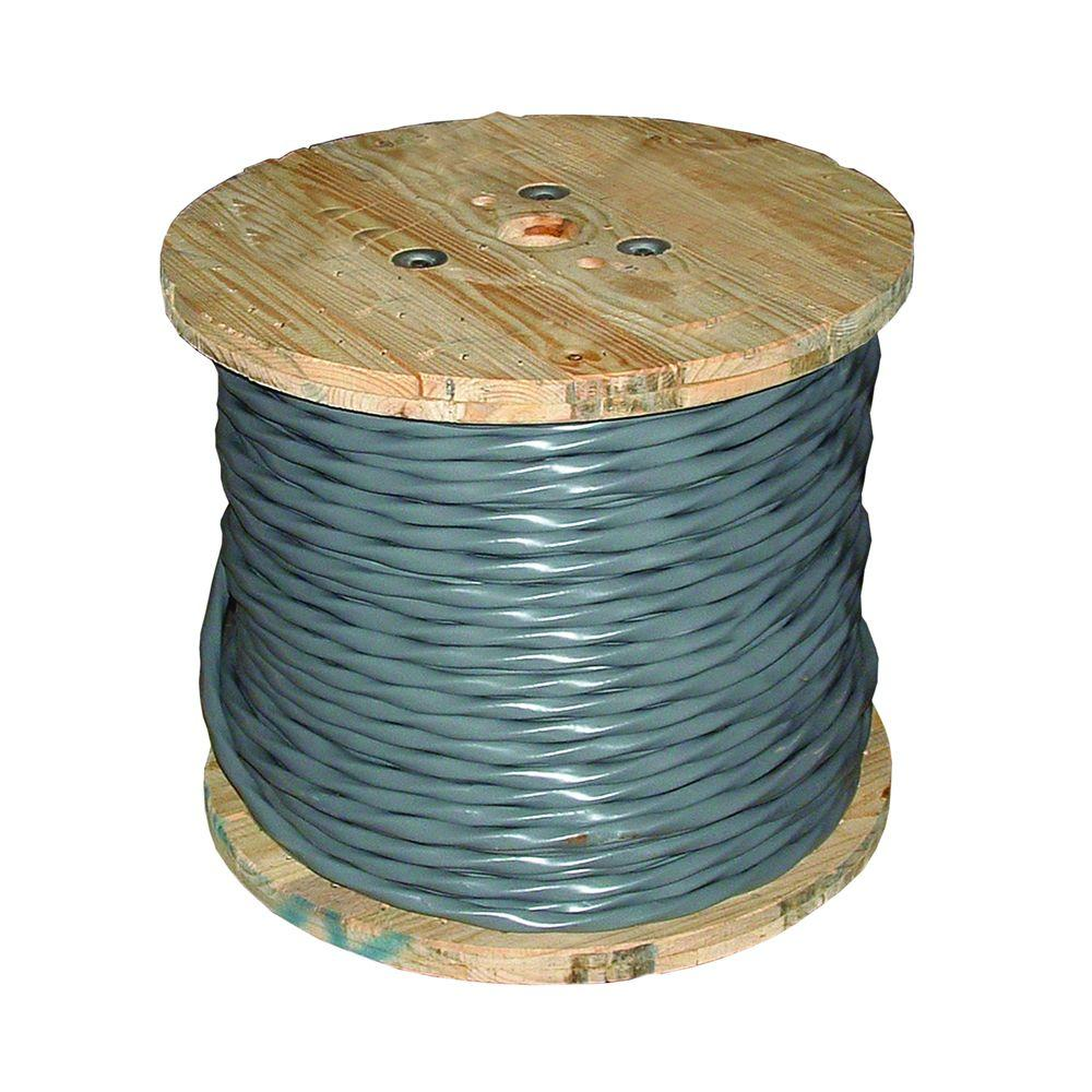 Southwire 100 ft. 12/2 Gray Solid CU UF-B W/G Wire-13055926 - The ...