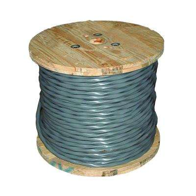 250 ft. 6/3 Gray Stranded CU UF-B W/G Wire