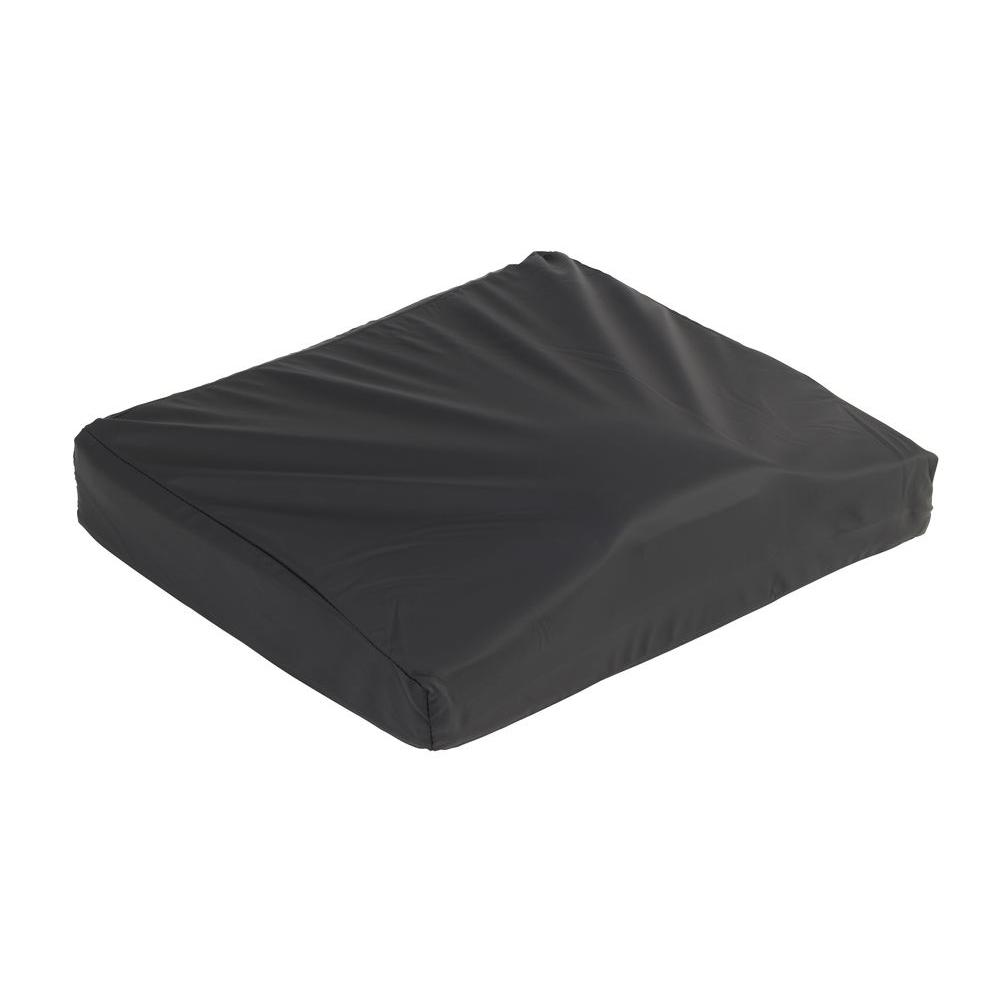 16 in. x 18 in. Titanium Gel/Foam Wheelchair Cushion
