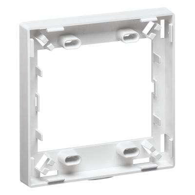 Multimedia Outlet System (MOS) Fiber Storage-Spacer Ring, White