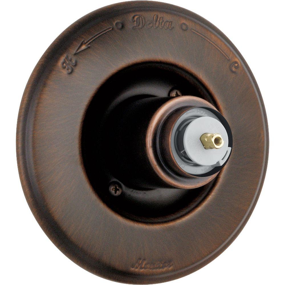 Delta Victorian Monitor 14 Series 1-Handle Temp. Control Valve Trim Kit In Venetian Bronze