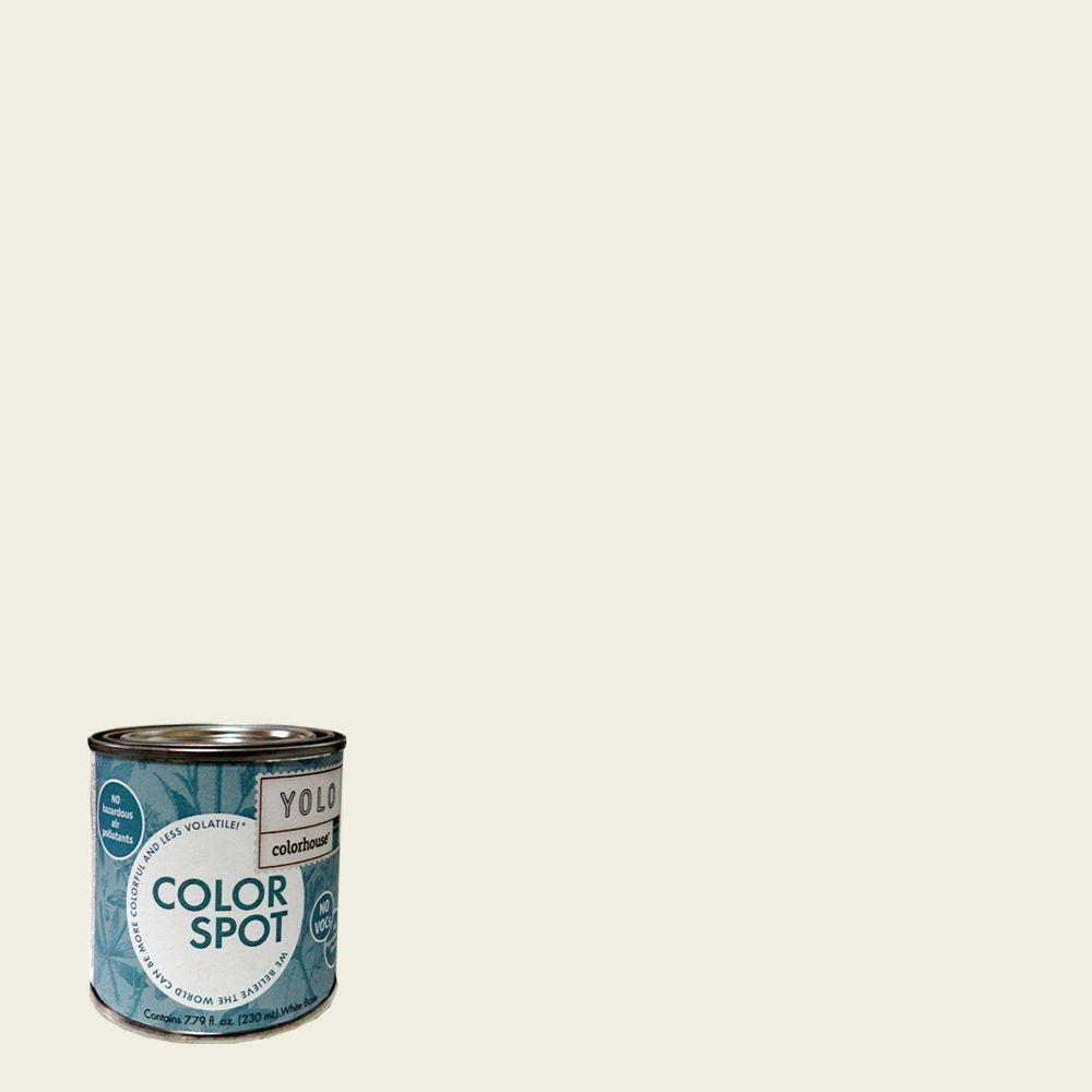 YOLO Colorhouse 8 oz. Bisque .02 ColorSpot Eggshell Interior Paint Sample-DISCONTINUED