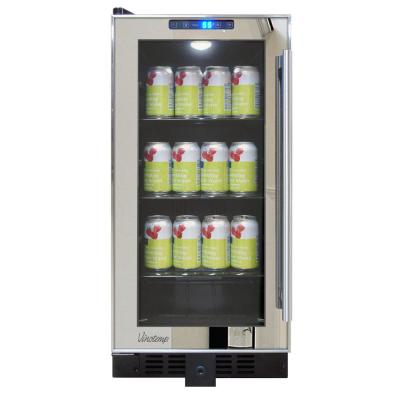 Mirrored 14.75 in. 68 (12 oz.) Can Cooler