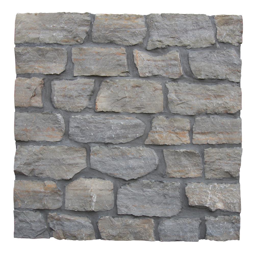 Laguna Grey Natural Limestone Wall Loose Veneer (100 sq. ft. / pallet)