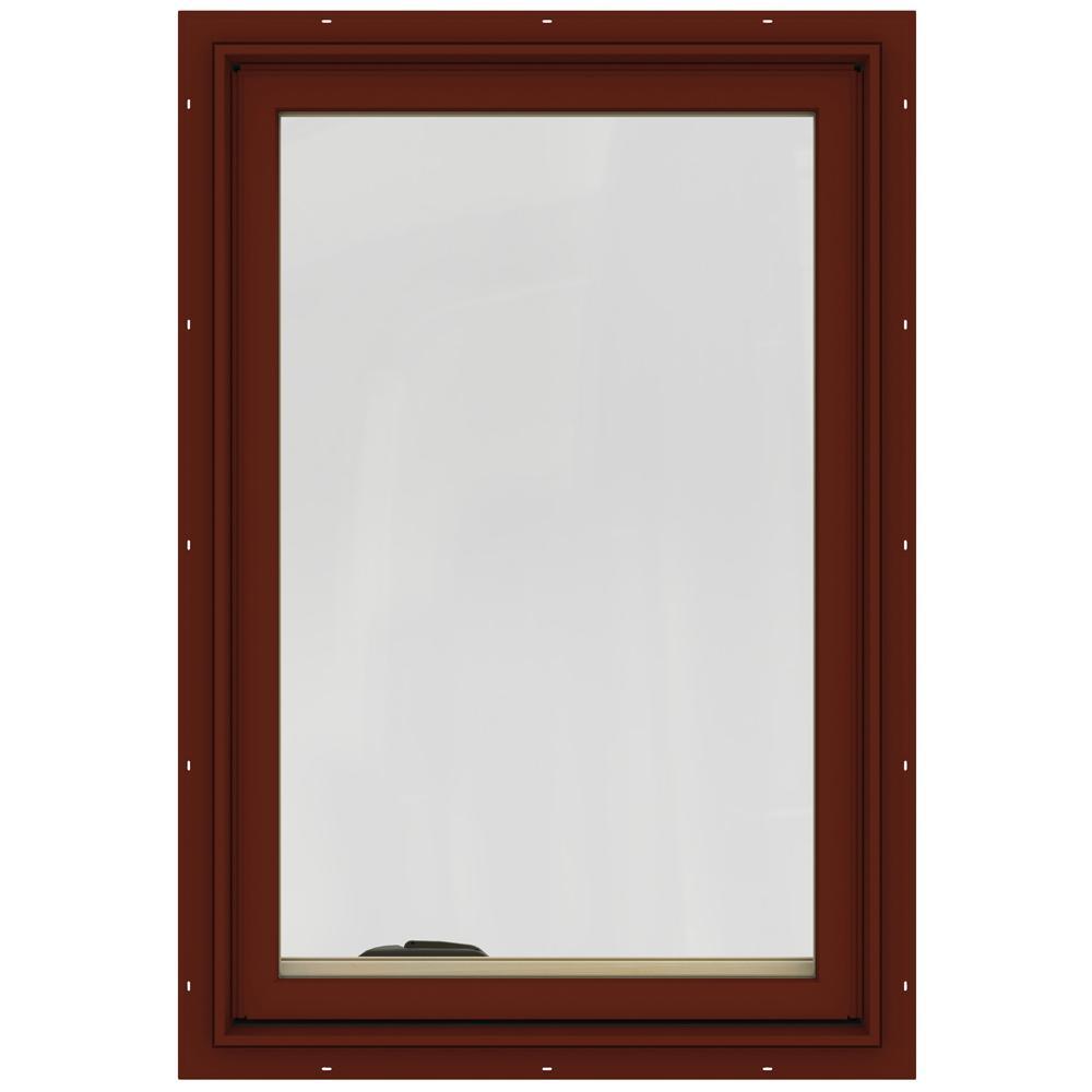 24.75 in. x 36.75 in. W-2500 Right-Hand Casement Wood Window