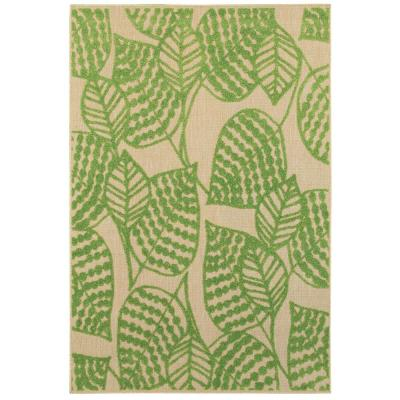 Mali Green 10 ft. x 13 ft. Outdoor Area Rug