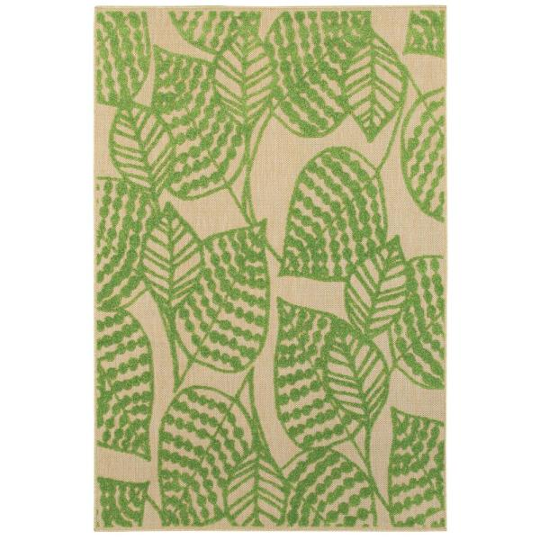 Home Decorators Collection Mali Green 10 Ft X 13 Ft Outdoor Area Rug 9905860610 The Home Depot