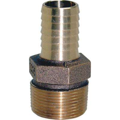 1-1/4 in. X 1 in. Brass Male Reducing Adapter