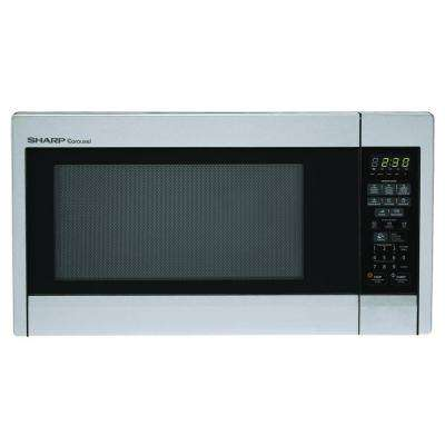 1.3 cu. ft. Countertop Microwave in Stainless Steel with Sensor Cooking