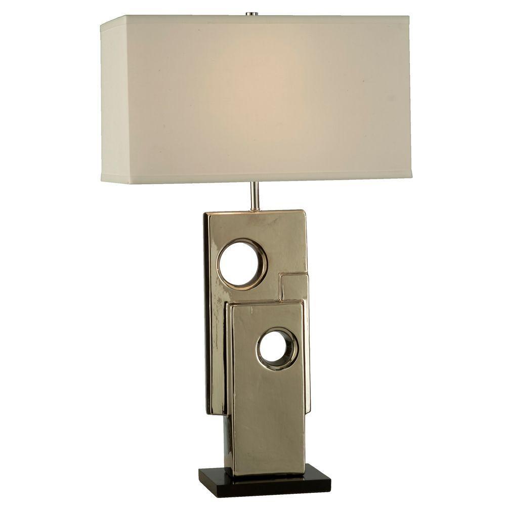 Filament Design Astrulux 28 in. Chrome Table Lamp