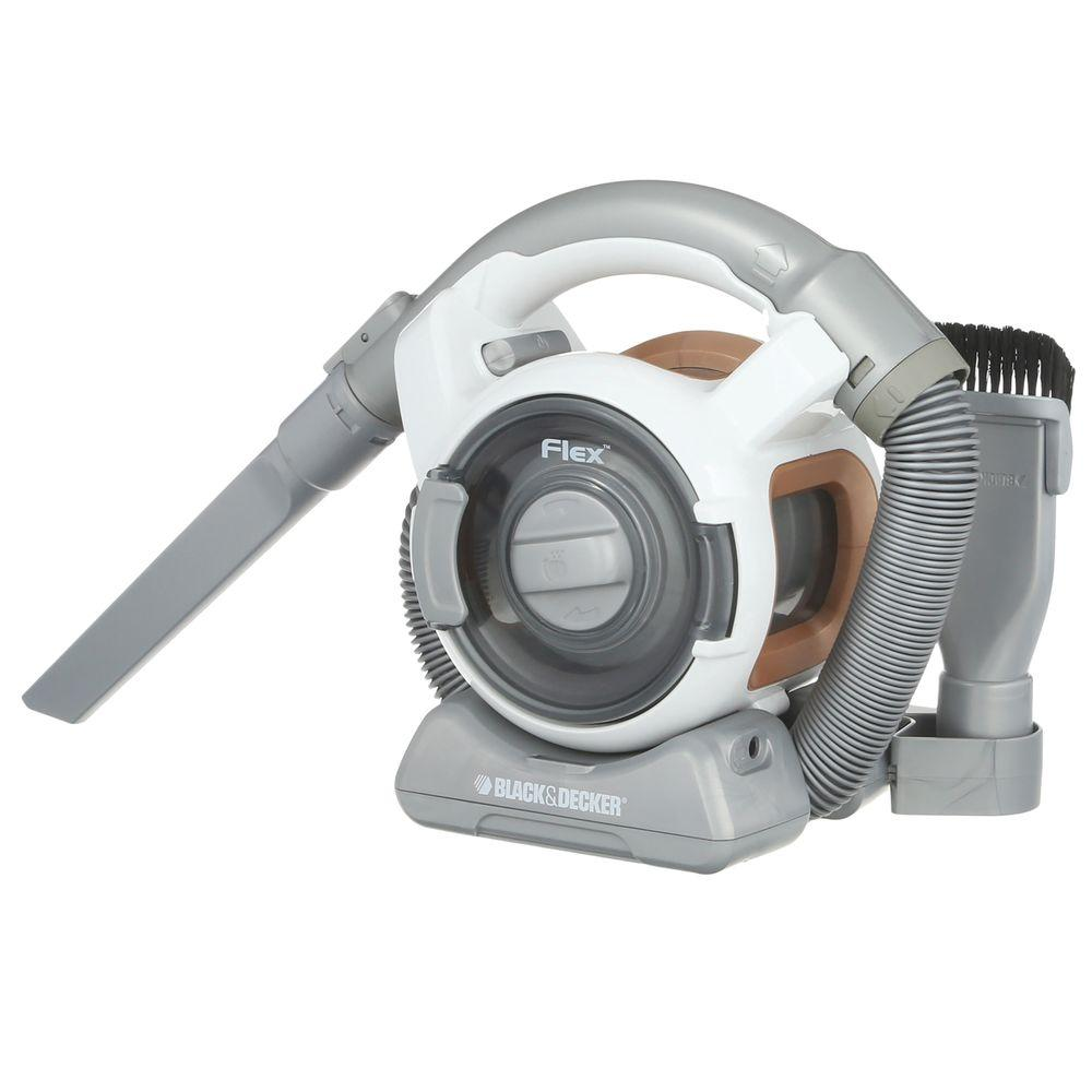 black decker cordless flexible handheld vacuum fhv1200 the home depot. Black Bedroom Furniture Sets. Home Design Ideas