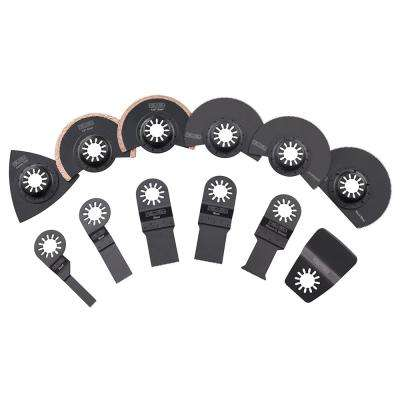 JobMax Oscillating Multi-Tool Blade Accessory Kit (14-Piece)