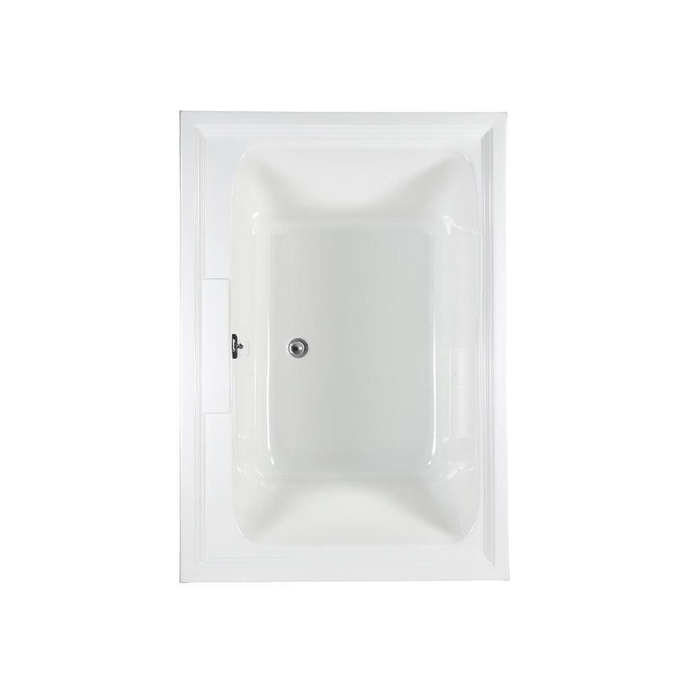 American Standard Town Square EverClean 5 ft. Whirlpool Tub in White