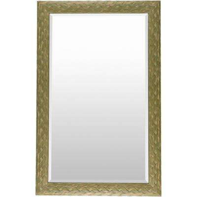 Salena 30 in. x 47 in. Polystyrene Framed Mirror