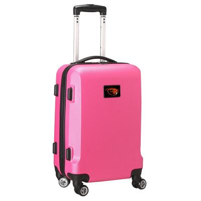 Denco NCAA Oregon State 21 in. Pink Carry-On Hardcase Spinner Suitcase