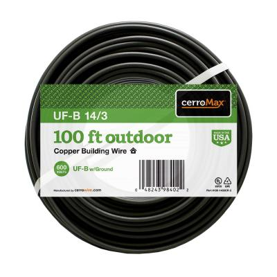 100 ft. 14/3 UF-B Wire
