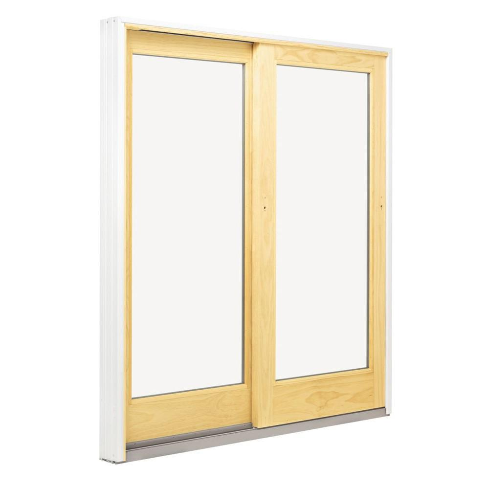 Andersen 72 in x 80 in 400 series frenchwood left hand for French gliding patio doors