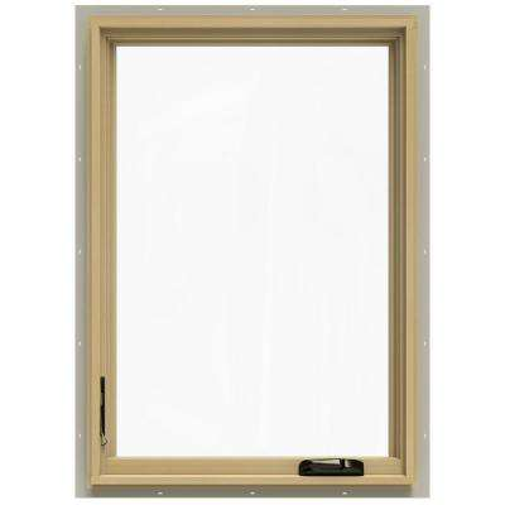 24.75 in. x 40.75 in. W-2500 Left-Hand Casement Wood Window