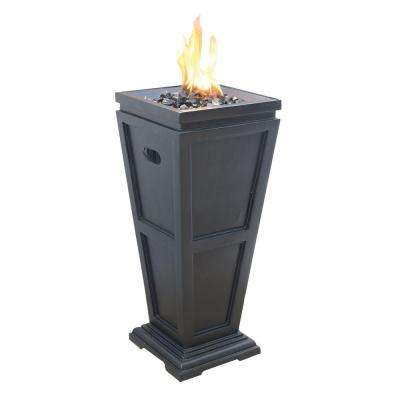 Medium 11.25 in. x 11.25 in. Propane Gas Fire Pit