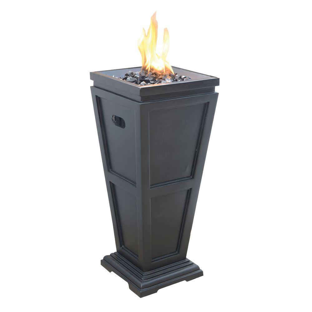 Medium 11.25 in. x 11.25 in. Propane Gas Fire Pit