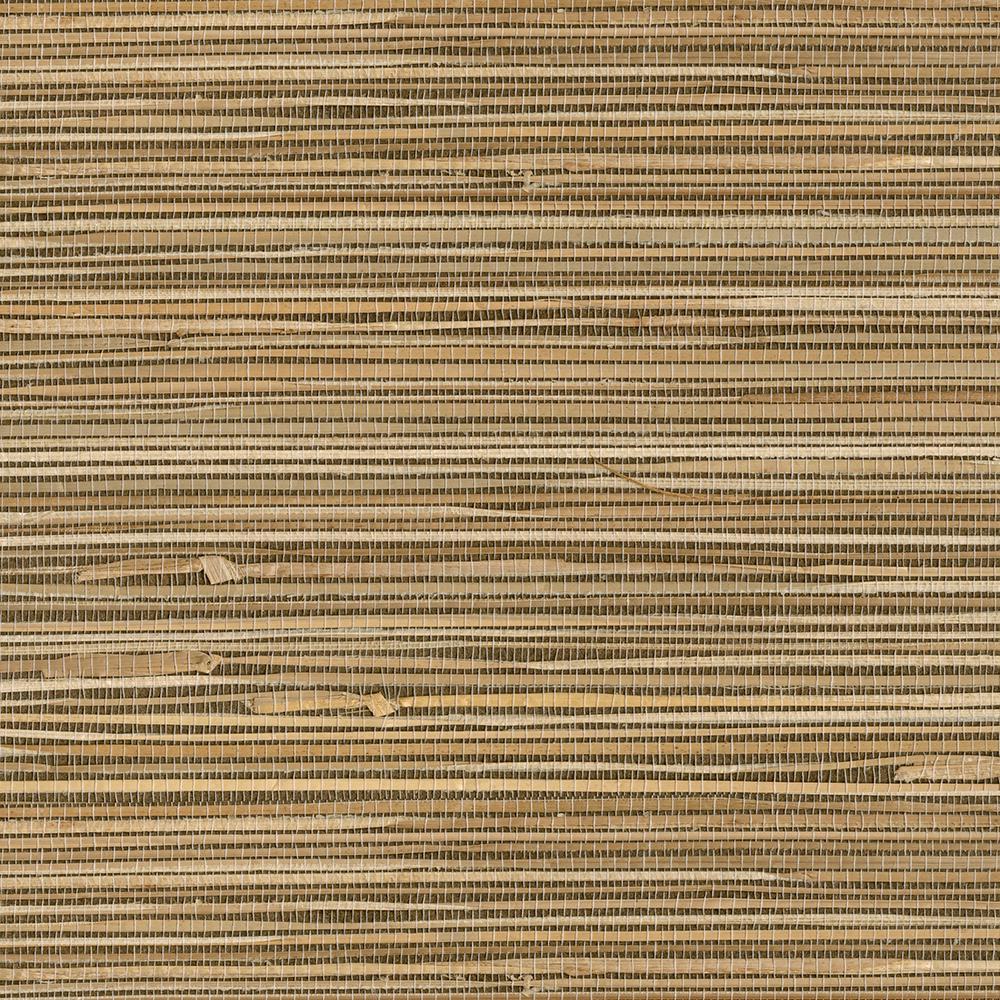 Kenneth James Seiju Wheat Grasscloth Wallpaper Sample