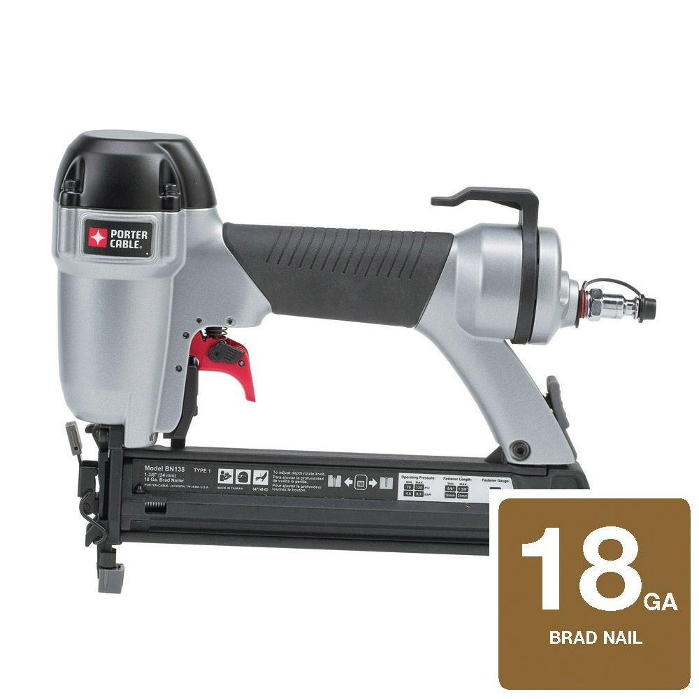 Porter-Cable 1-3/8 in. Brad Nailer-DISCONTINUED