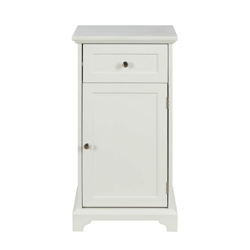 Acme Furniture Simes White Cabinet