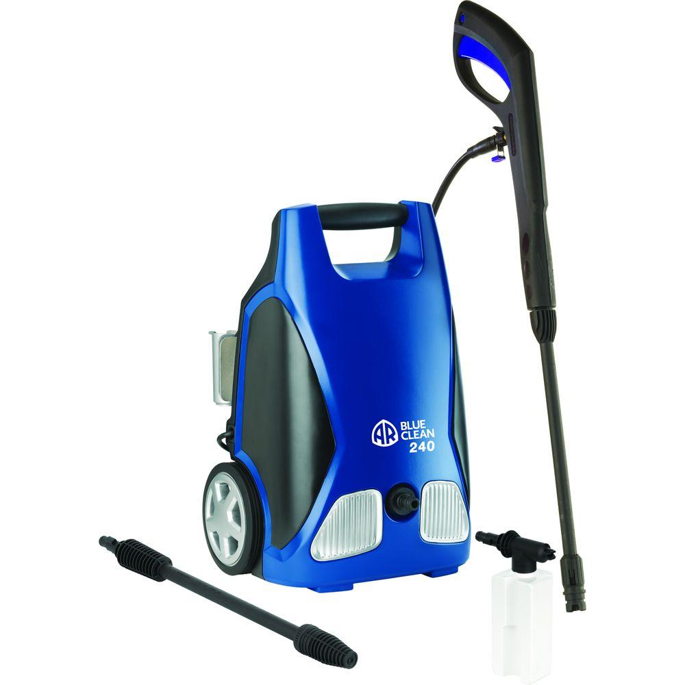 AR Blue Clean 1750-PSI 1.5-GPM Electric Pressure Washer with Total Stop System