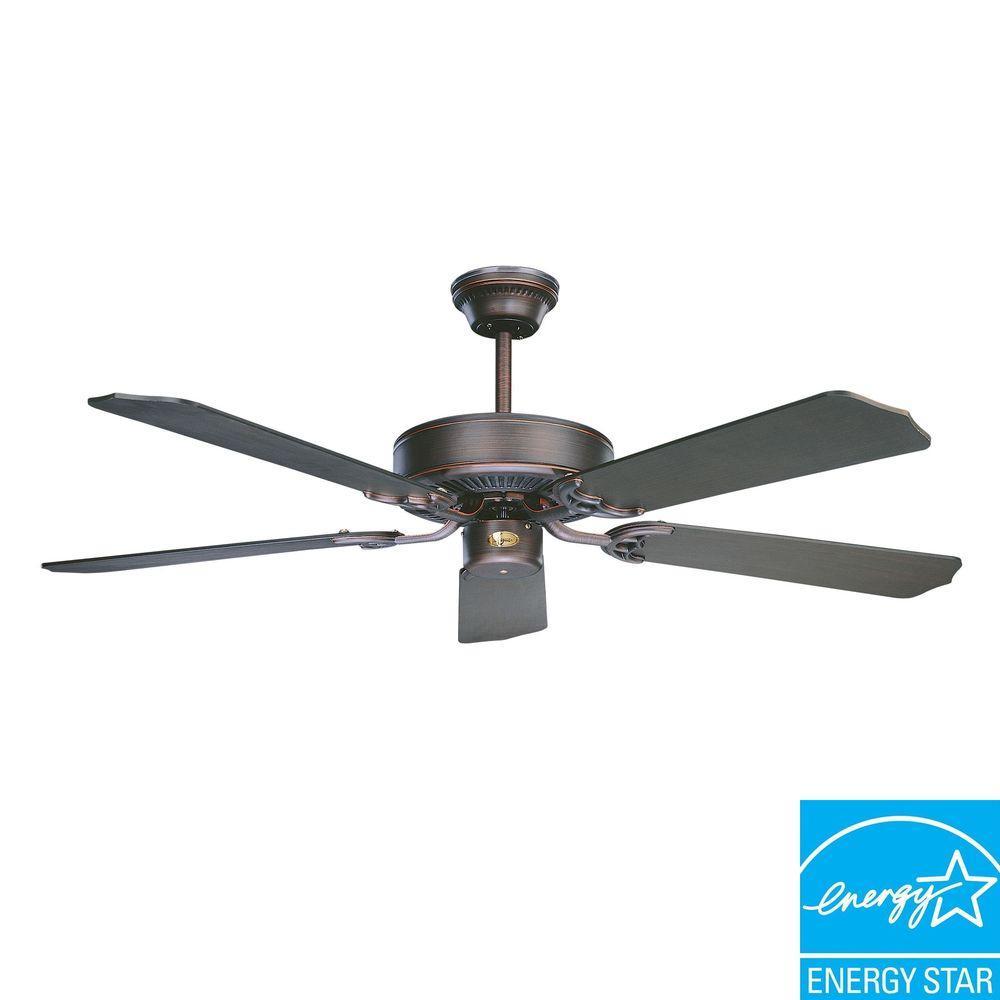 California Series 52 in. Indoor Oil Rubbed Bronze Ceiling Fan