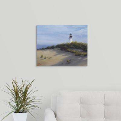 """""""Lighthouse on the Shore"""" by  Vivien Rhyan Canvas Wall Art"""