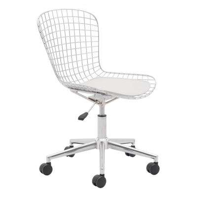 Wire Chrome Office Chair
