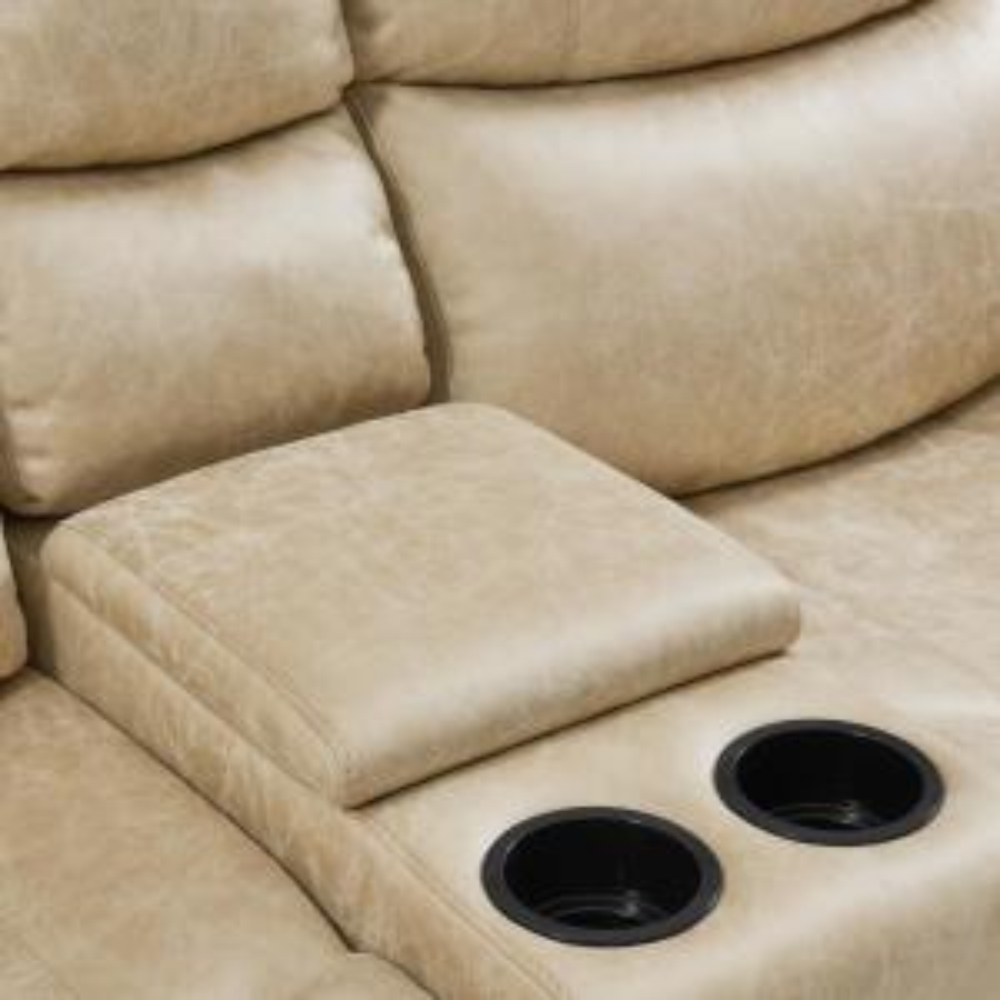 Prime Prolounger Distressed Latte Tan Faux Leather 2 Seat Rolled Machost Co Dining Chair Design Ideas Machostcouk
