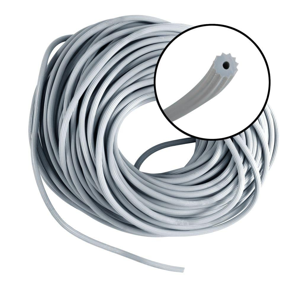 Phifer 0.175 in. x 100 ft. Gray Spline