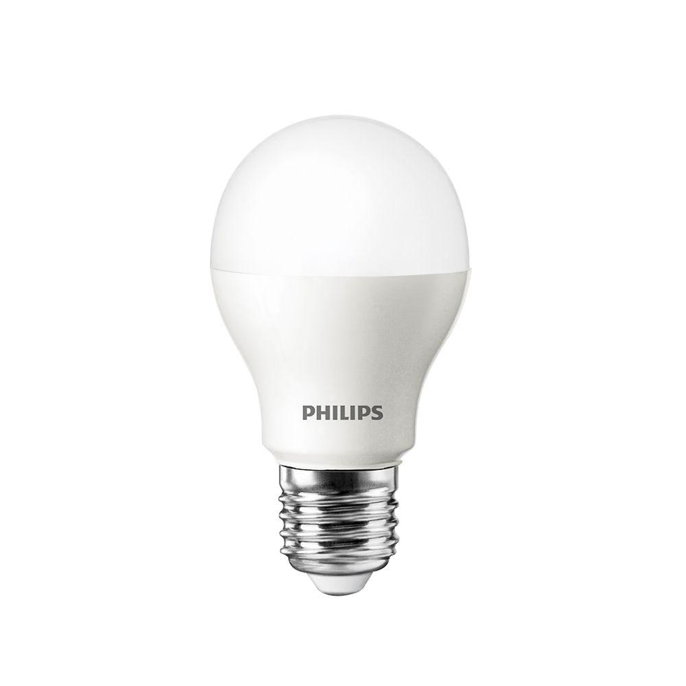 Philips 60W Equivalent Bright White (3000K) A19 LED Light Bulb (4-Pack)