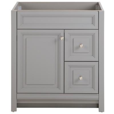 Brinkhill 30 in. W x 21.65 in. D x 34 in. H Bath Vanity Cabinet Only in Sterling Gray