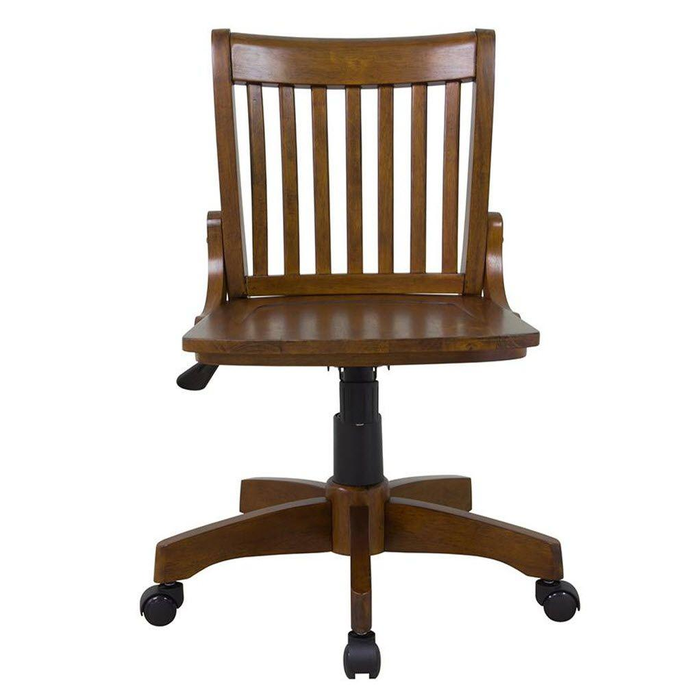 Oxford Chestnut (Brown) Adjustable Office Chair