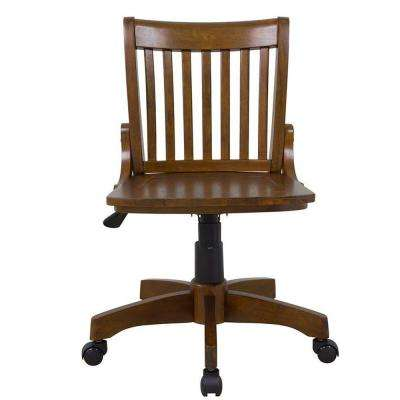Oxford Chestnut Adjule Office Chair