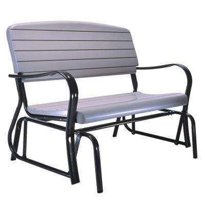 Outdoor Patio Glider Bench