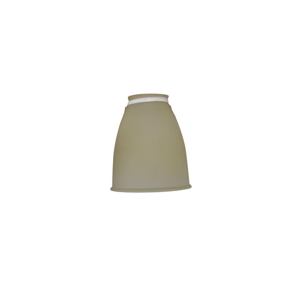 Casablanca Tropical Leaf Toffee Ceiling Fan Glass Bowl For